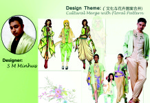 Bangladeshi designers work in Chinese fashion competition