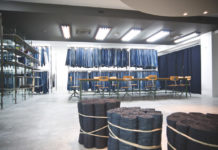 ISKOteca, the product library of 25000 denim concept