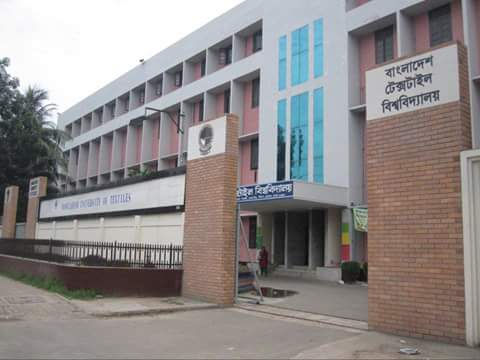 Figure : Bangladesh University of Textiles is leading the textile education sector of Bangladesh.