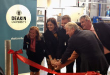 The launching of the first carbon fiber manufacturing facility in Australia.