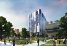 Figure 1: This is the first look at the £150m Manchester building of the Henry Royce Institute