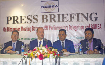EU delegation praise Bangladesh RMG Industry's progress and called on for alignment of Bangladesh Labor Unions Act