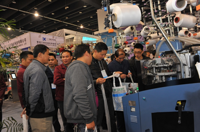 Figure 1: YiwuTex has become an important place to discover the technology advancements in textile value chain.
