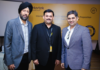 Figure 1: Meet & Greet(L-R) - Vikramjeet Singh, Country Manager, GAP, Dr. Karthik, Country Managing Director, Intertek Bangladesh, Najeeb Akbar Sayed, Hub Leader, PVH