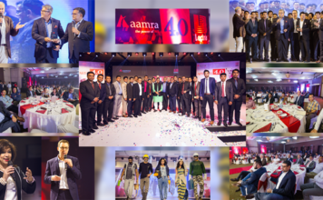 Figure: Different moments of the event launching the new Lectra strategy Industry 4.0 in Dhaka, Bangladesh.