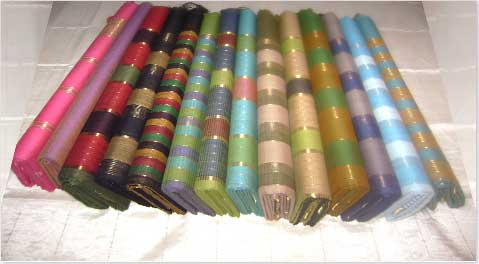 Figure 2: A stack of some Tangail saree