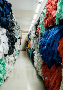 Figure 1: Circular Fashion is bringing back tons of used garments in as new fast fashion products reducing solid waste.
