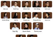 Figure: Fifteen finalists of YDC organized by HKTDC