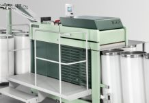 Figure 1: RSB-D 50 draw frame – highest productivity with 1 200 m/min delivery speed.