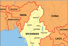 Figure: Myanmar to become one of the important garment manufacturers in the world.
