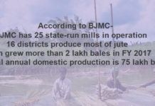 Figure: Data of Jute production, source BJMC.
