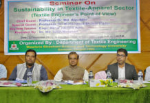 Figure: Distinguished guests were present in the seminar.
