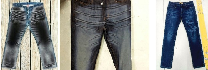 Uses of laser technology producing 'greener' denims