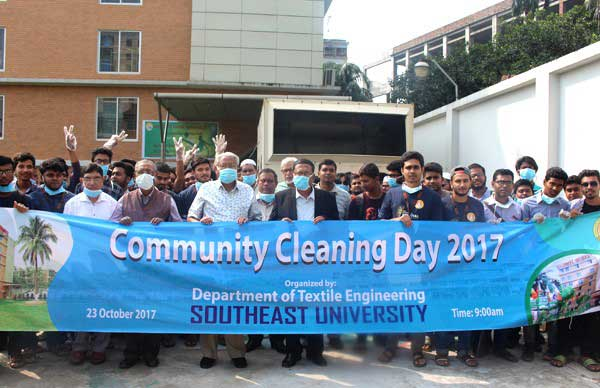 Figure1: Community cleaning day-2017 rally.