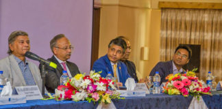 Figure 1: Distinguished guests were present in the seminar.
