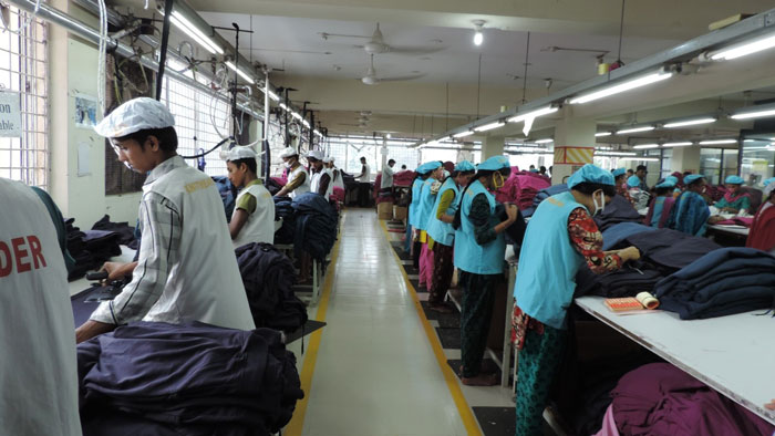 Figure 1: Abundant and skilled workforce remain as core competence of Bangladesh for textile and apparel business.