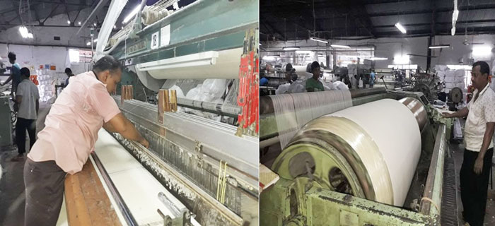 Figure 3: Machine used in Terry Towel production.