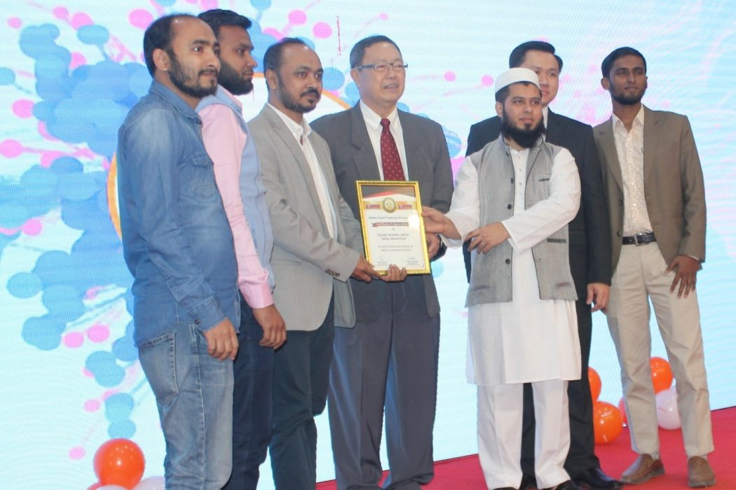 Silkflex gave award to some renowned printing industry