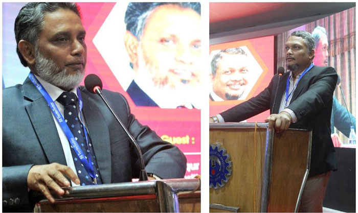 Figure 3: Engr. Md. Shafiqur Rahman, President, The Institute of Textile Engineers & Technologists Bangladesh, Managing Director, HAMS Group delivered speech as chief guest.