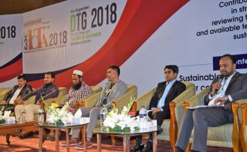 Figure 4: First day of the exhibition, Bangladesh Textile Today and the Textile Institute (Bangladesh Section) jointly organized 'The 3rd International Conference on Textile & Apparel, ICTA 2018' with the titled 'Sustainable technologies and processes for competitive advantage'.