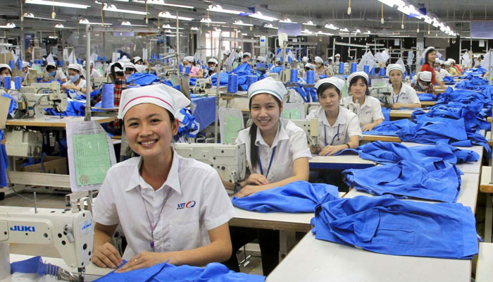 garment factory in vietnam