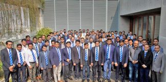 Figure 1: All the leaders of top management were present at 'Managers Thought 2018' on 4th February at the corporate office in Dhaka.