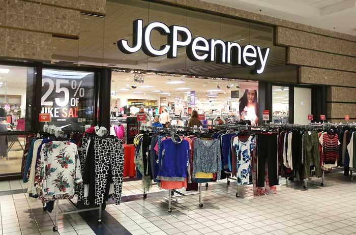 JC Penny is expecting to close eight of its departmental stores in the U.S. market