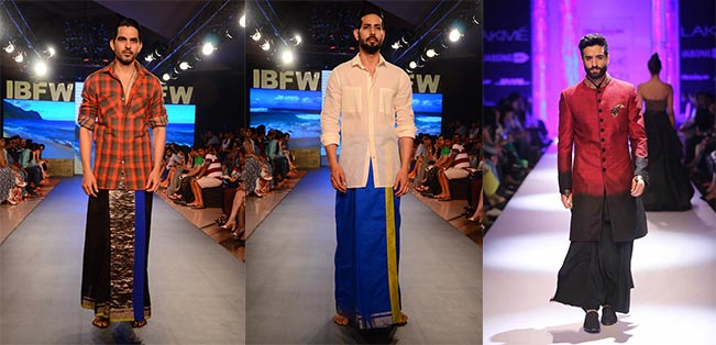 Figure 4: Different fashion houses and brands are making lungi with modern design.