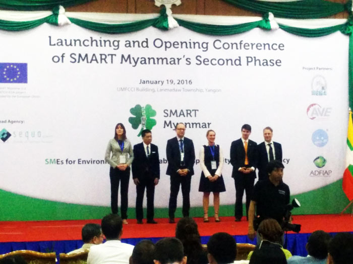 The second phase of the four-year Smart Myanmar project launched on 19 January 2016