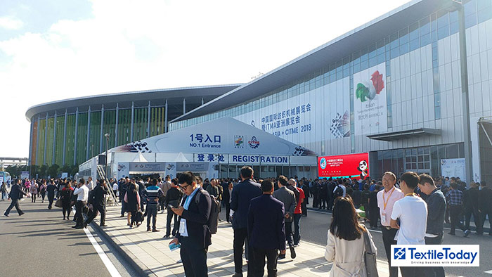 ITMA ASIA and Yarn Expo being held in NECC Shanghai