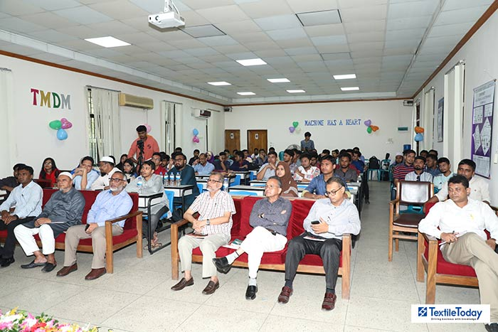 Seminar on Thermal Analysis Machinery and Prospects of Students of Textile Machinery Design & Maintenance at BUTEX