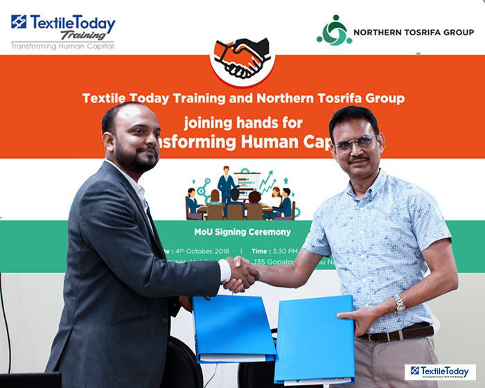 Textile Today and Northern Tosrifa Group (NTG) joined hands to create skilled professionals