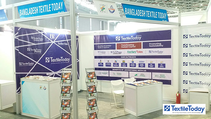 Textile Today booth in ITMA Asia 2018