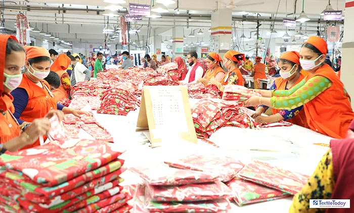 In July-October period of the current fiscal year, export earnings of Bangladesh readymade garment sector sent up by 20.08% to $11.33 billion