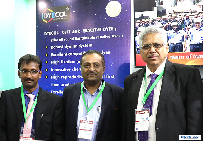 DYECOL offers different ranges sustainable reactive dyes at 19th TEXTECH Expo 2018 Dhaka