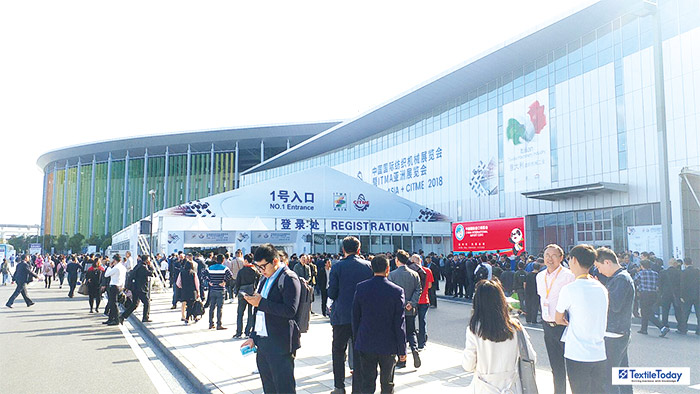 ITMA ASIA + CITME 2018 ended successfully