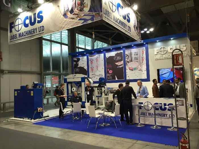Focus Label Machinery Ltd. at ITMA 2019