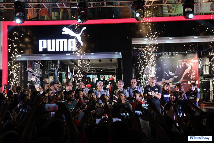 Puma launches its first flagship store in Bangladesh