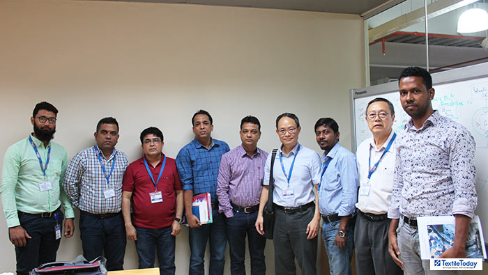 SILKFLEX Global team with Pacific Jeans