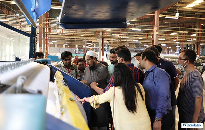 Amber Denim production floor Textile Today Training
