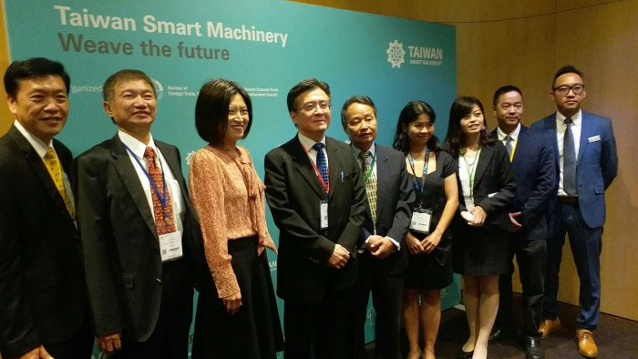 Taiwan shows Asian strength in 'smart' machinery at ITMA 2019