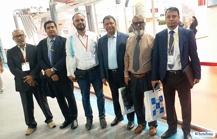 BD industry owners in ITMA 2019