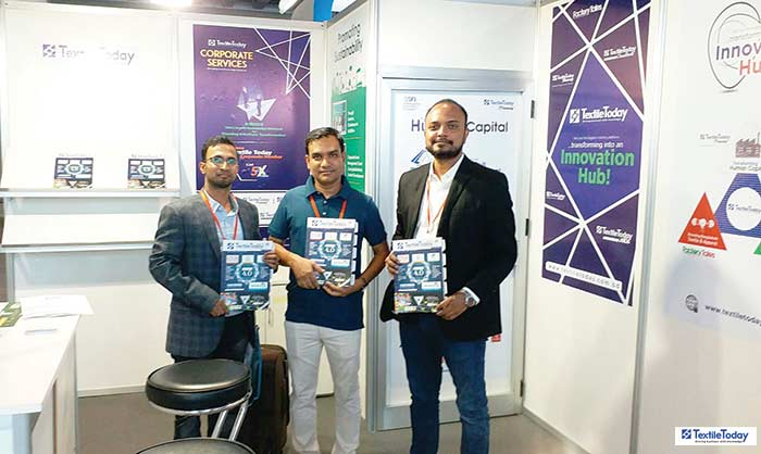 Bangladeshis from different parts of world could come together ITMA at Textile Today booths