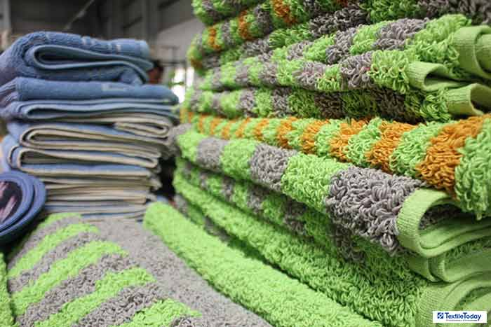 Mosharaf Group cutting waste recycled towel
