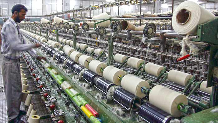 cotton in Indian textile industry