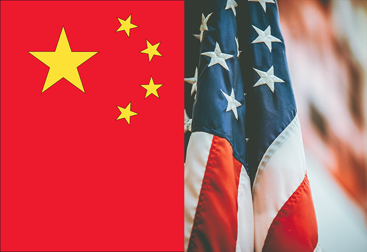 China's market share in U.S apparel