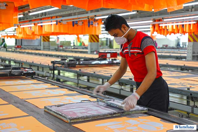 Direct to garment printing business