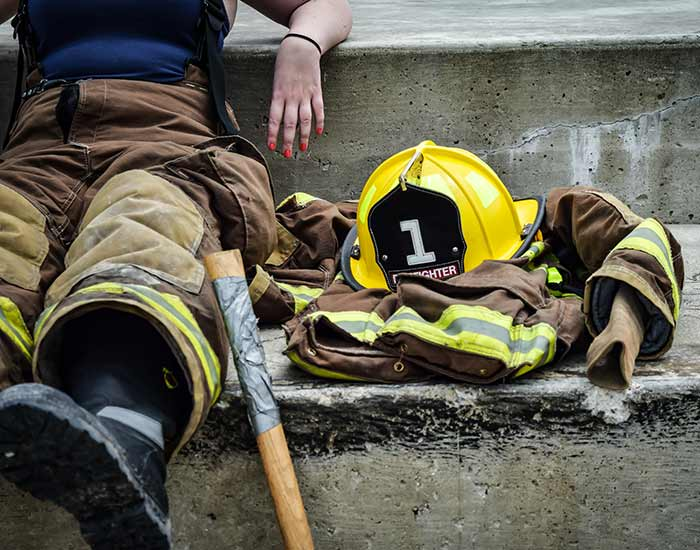 Firefighters specialty garments