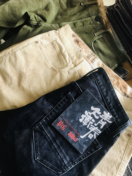 GENESIS:M&J Group Capsule Collection with PG DENIM