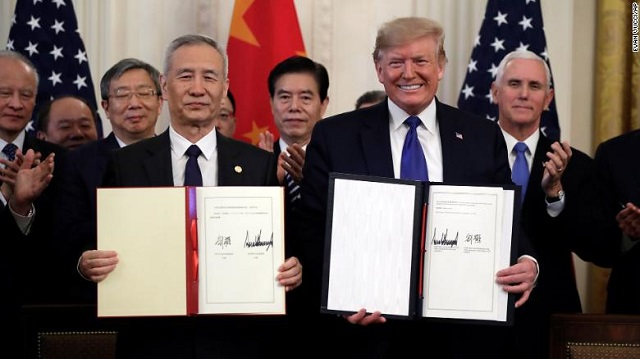 USA-China trade deal (Phase-1) & Cotton